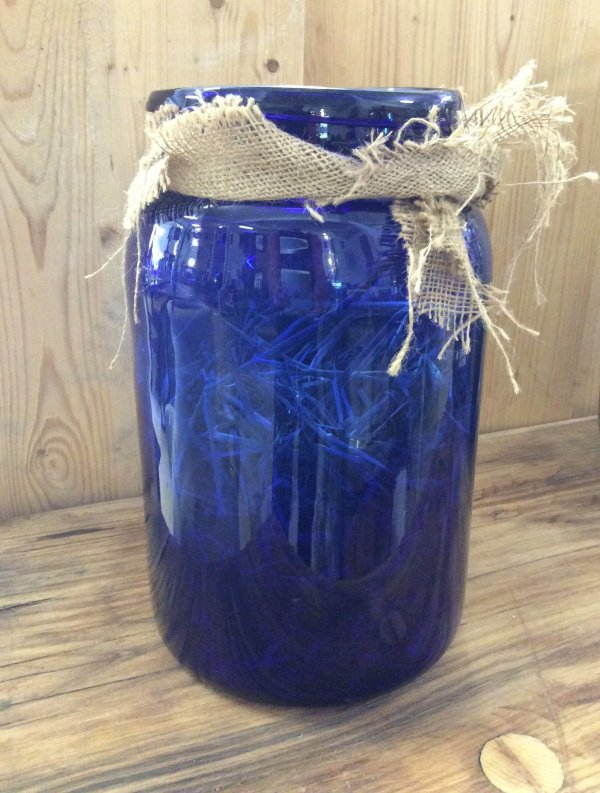 vintage jar glass pickling vase hurricane