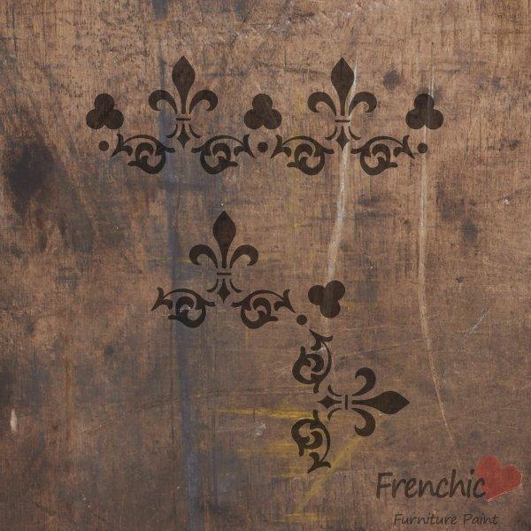 Frenchic Lace Petticoat stencil