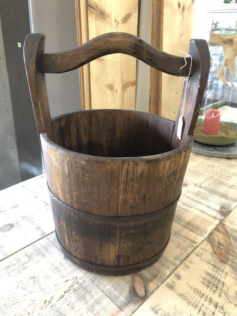 Vintage Wooden Buckets Ark Vintage Vintage Retro